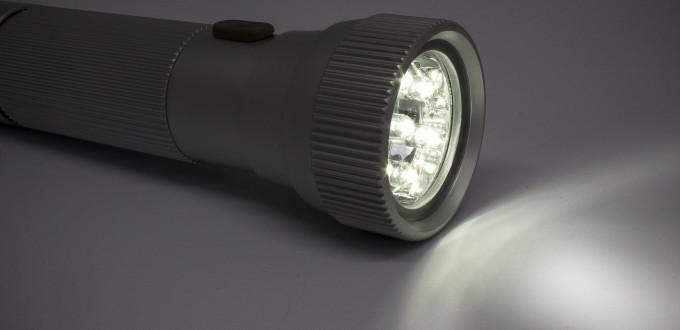 Akku Taschenlampe